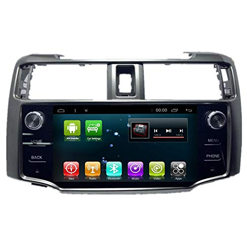 Car Radio GPS Android 8.1 Stereo Player for Toyota 4Runner 4 Runner 2011-2019 Navigation Head Unit Multimedia BT WiFi Sat Nav (Android8.1 4+64G 4Runner) (Best Head Unit 2019)