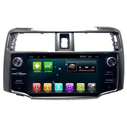 Car Radio GPS Android 8.1 Stereo Player for Toyota 4Runner 4 Runner 2011-2019 Navigation Head Unit Multimedia BT WiFi Sat Nav (Android8.1 4+64G 4Runner)