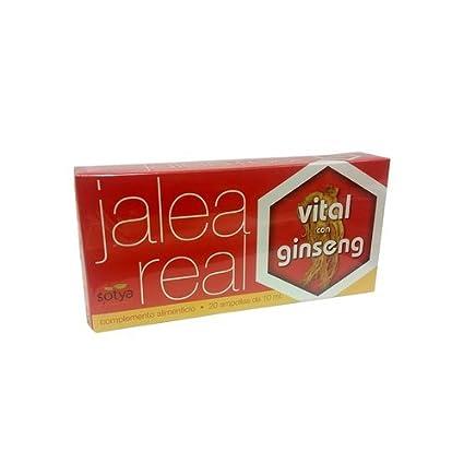 Jalea Real Vital Ginseng 20 Ampollas de Sotya