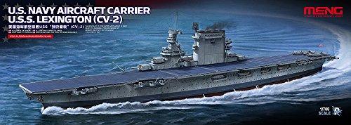 MNGPS002 1:700 Meng US WW2 Aircraft Carrier USS Lexington CV-2