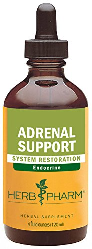 Herb Pharm Adrenal Support Herbal Formula with Eleuthero and Licorice Extracts - 4 Ounce (Licorice Root Hypertension)