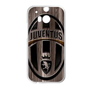 FC Juventus Logo for HTC One M8 Cell Phone Case & Custom Phone Case Cover R19A652175