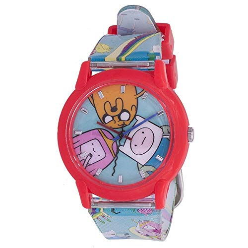 ADVENTURE TIME WRIST WATCH SAME ONE DEADPOOL WEARS IN THE MOVIE COSPLAY ANALOG]()