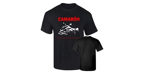 Camiseta Hombre Oficial CAMARON DE LA Isla REENCUENTRO Algodon ...