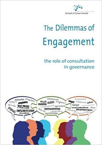 The Dilemmas of Engagement: The role of consultation in governance by Jenny Stewart (2011-04-22)
