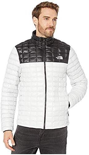 [THE NORTH FACE(ザノースフェイス)] メンズウェア・ジャケット等 Thermoball Eco Jacket Tin Grey/TNF Black 2XL [並行輸入品]