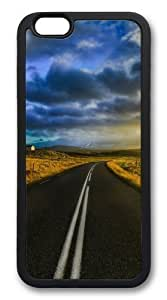 Custom DIY Case for with iphone 5s, light The open road in laundry iceland Hard PC Back Protective Case for iphone 5s the Plus