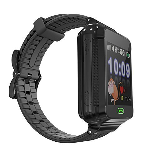 TechComm G500S Kids Smartwatch with GPS and Fitness Tracker for T-Mobile ONLY Black
