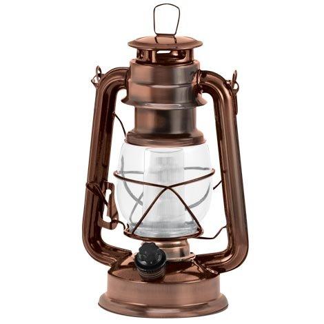Vintage Copper LED Lantern