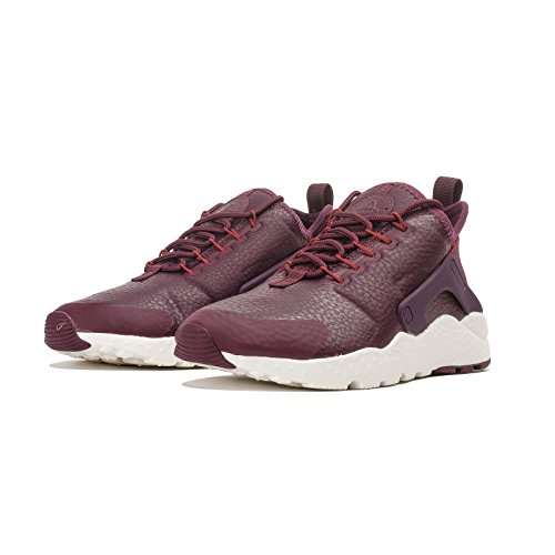 Nike Womens Huarache Run Ultra Prm Hardloopschoenen Night Maroon / Dark Cayenne-sail