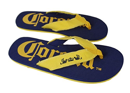Corona XL Mens Flip Flop Sandals Yellow Strap 2gtOahB7