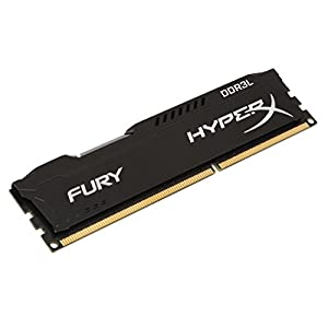 Kingston Technology HyperX FURY 16GB Kit (2 x 8GB) 1866MHz DDR3L Desktop Memory HX318LC11FBK2/16