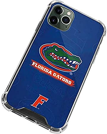 Skinit Clear Phone Case Compatible with iPhone 11 Pro Max - Officially Licensed College Florida Gators Design