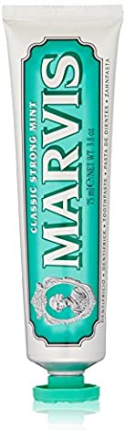 Marvis Classic Strong Mint Toothpaste, 3.8