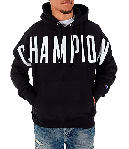 Champion Men's Reverse Weave Pullover Hoodie (XX-Large, Oversized Arch Logo ()