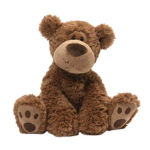- GUND Grahm Teddy Bear Plush Stuffed Animal, Brown, 12