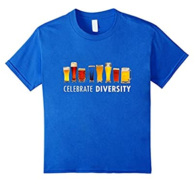 Celebrate Beer Diversity Funny IPA Stout T-shirt