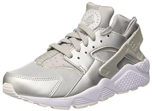 separation shoes 814e8 4d15d Galleon - NIKE Men s Air Huarache Run Premium Metallic Silver 704830-008  Shoe 13 M US Men