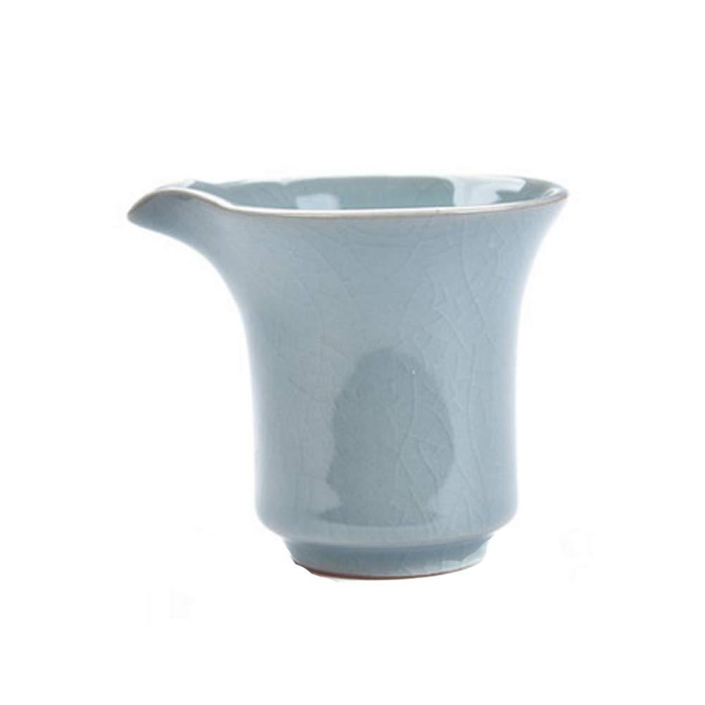 Kylin Express Vintage Handmade Ceramic Pottery Porcelain Tea Accessories,Chinese & Japanese Style Kungfu Tea Set8