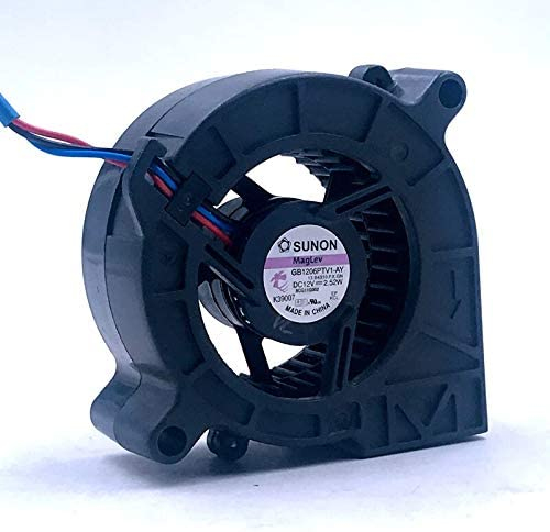 10pcs lamp fan 60X25 mm New SUNON GB1206PTV1-AY 13.B4310.F.X.GN DC 12V 2.52W 58x58x25mm 3-wire Server Cooler Fan FG Tach Signal