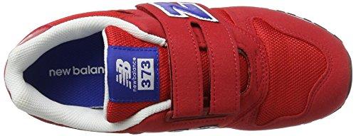 New Balance Nbkv373rdi - Zapatos Hombre Red/Navy Microfiber/Mesh