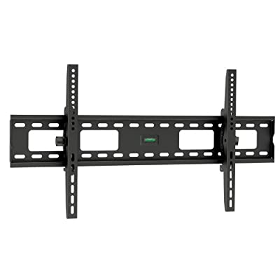 "ViiRO Premium Tilting Wall Mount Bracket 10Degree up/down Tilt Heavy Duty Universal Design Which Suits Samsung, Sony, Vizio, LG, Panasonic, LCD, LED Or Plasma Flat Screen or Curved TVs Sizes 37"" To 70"" (37 Inch - 70 Inch)- Max VESA 800x400 mm, 165 lbs Cap"