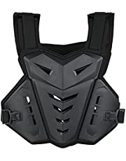 Back Vest,Funien Motorcycle Vest Chest Spine Back Protector Protective Vest for Cycling Skating Skiing Motocross Bike Riding