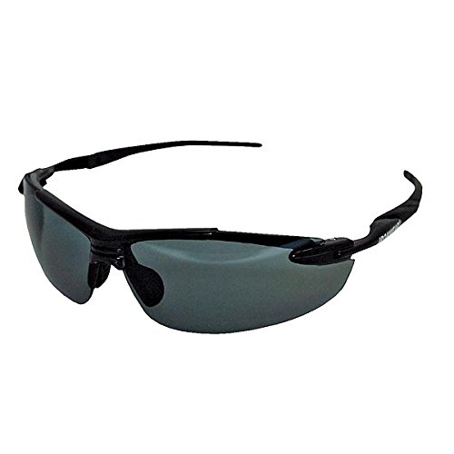 (Ironwear Madison 3006 Series Nylon Protective Safety Glasses, Polarized Lens, Black Frame (3006-P))