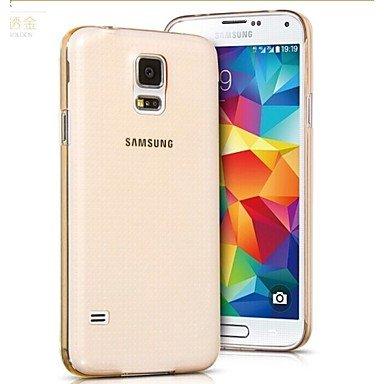 Casos hermosos, cubiertas, Material de TPU transparente fina caja del teléfono suave para el mini samsung galaxy s5 (colores surtidos) ( Color : Transparent , Modelos Compatibles : Galaxy S5 Mini ) Transparent
