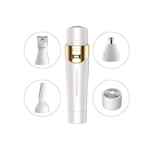 JIAO Multifunctional Four-in-one Ladies Electric Lipstick Shaver Female Epilator