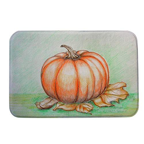 Halloween Decor KIKOY Pumpkin Series Welcome Door mats Indoor Home Carpets 40x60CM -