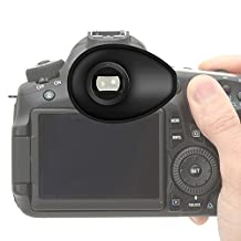First2savvv Premium Quality DLSR Cameras Rubber Eyepiece Eyecup Magnifying Eyepiece for Nikon D750 D610 D600 D500 D300S D7200 D7100 D7000 D90 D5500 D5300 D5200 D5100 D5000 D3400 D3300 D3200 D3100 D700 D300 D200 D100 D80 D70 D60 D70 D60 DSLR Camera - QJQ-TX-P-P01