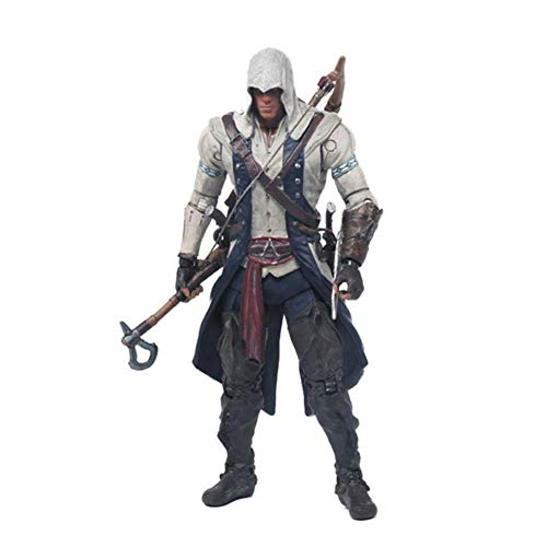 Black Flag Edward Kenway Kangna PVC Action Figure Toy 15Cm 4 Styles Best Gifts for Collect ()