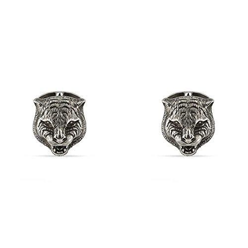 Gucci Women's Gatto Cufflinks Silver One - Gucci Cufflinks