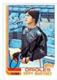 Autograph Warehouse 61463 Tippy Martinez Autographed Baseball Card Baltimore Orioles 1982 Topps No. 583