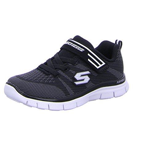 Solidus Skechers De Entrenamiento Infantil Grofa Negro rwU0Rqvr4