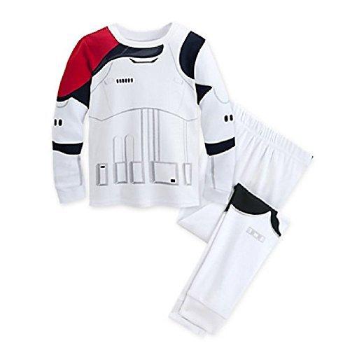 Disney Star Wars: The Force Awakens Stormtrooper Pj Pals for Kids (3),White