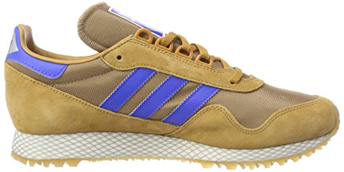 adidas New York, Scarpe da Fitness Uomo Marrone (Mesa / Carton / Gum2 000)