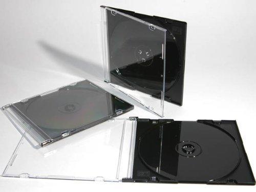 1 opinioni per Per CD/DVD, 5,2 Nero Custodia sottile, 100 pezzi da drago ® Trading
