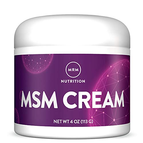 MRM MSM Cream with Vitamin A & D -- 4 Oz.