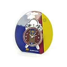 FC Barcelona Official Football Mini Bell Alarm Clock (One Size) (Multicolored)