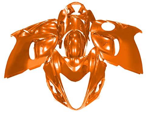 (Sportbike Deals AZDS411ORG Body Kit (Suzuki Hayabusa 08-17 Abs Plastic Painted Orange))