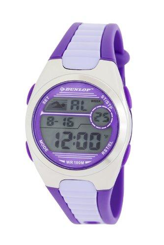 2a061cb5f Image Unavailable. Image not available for. Color: Dunlop Flash DUN194M09  36 Plastic Case Rubber Mineral Women's Quartz Watch
