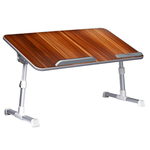 Neetto Adjustable Laptop Bed Table, Portable Standing Desk, Foldable Sofa Breakfast Tray, Notebook Stand Reading...