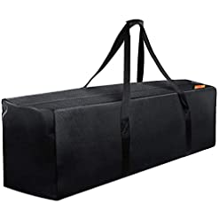 WMB Travel Pro 41tpzrf8VfL._SS247_ INFANZIA 47 Inch Zipper Travel Duffel Gym Sports Luggage Bag, Water Resistant Oversize, Black