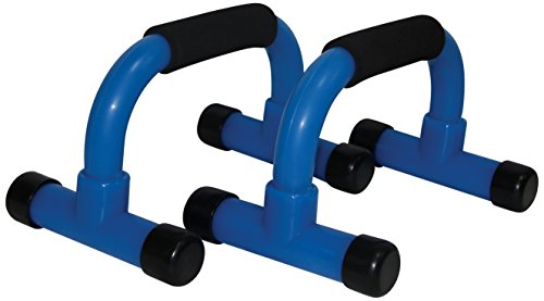 Tunturi Push Up bar with Foam Handle (Blue)
