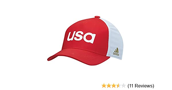 super popular b2f2d 98a9f Amazon.com  Adidas 2016 Olympics Caps Red Large X-Large  Sports   Outdoors