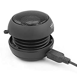Wired Black Portable Universal Loud Speaker Multimedia Audio System w Built-in Battery for Amazon Fire HD 10, 8, Kindle DX, Fire, HD 6, 7, 8.9, HDX 7, 8.9