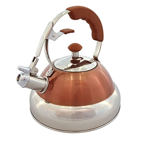 Member's Mark 2.7 Qt. Stainless-Steel Tea Kettle (Copper)