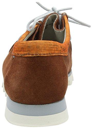 Sioux Mannen Grashopper-h-161-02 Velours / Textiel Mocassin Bruin (terracotta / Oranje)